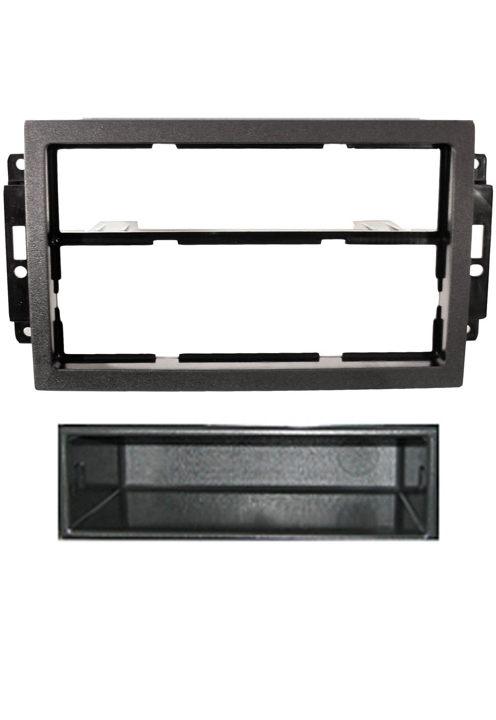 Jeep Wrangler Car Stereo Mounting And Fitting Solutions For Double Din Radio 2x 1 Facia Adaptor