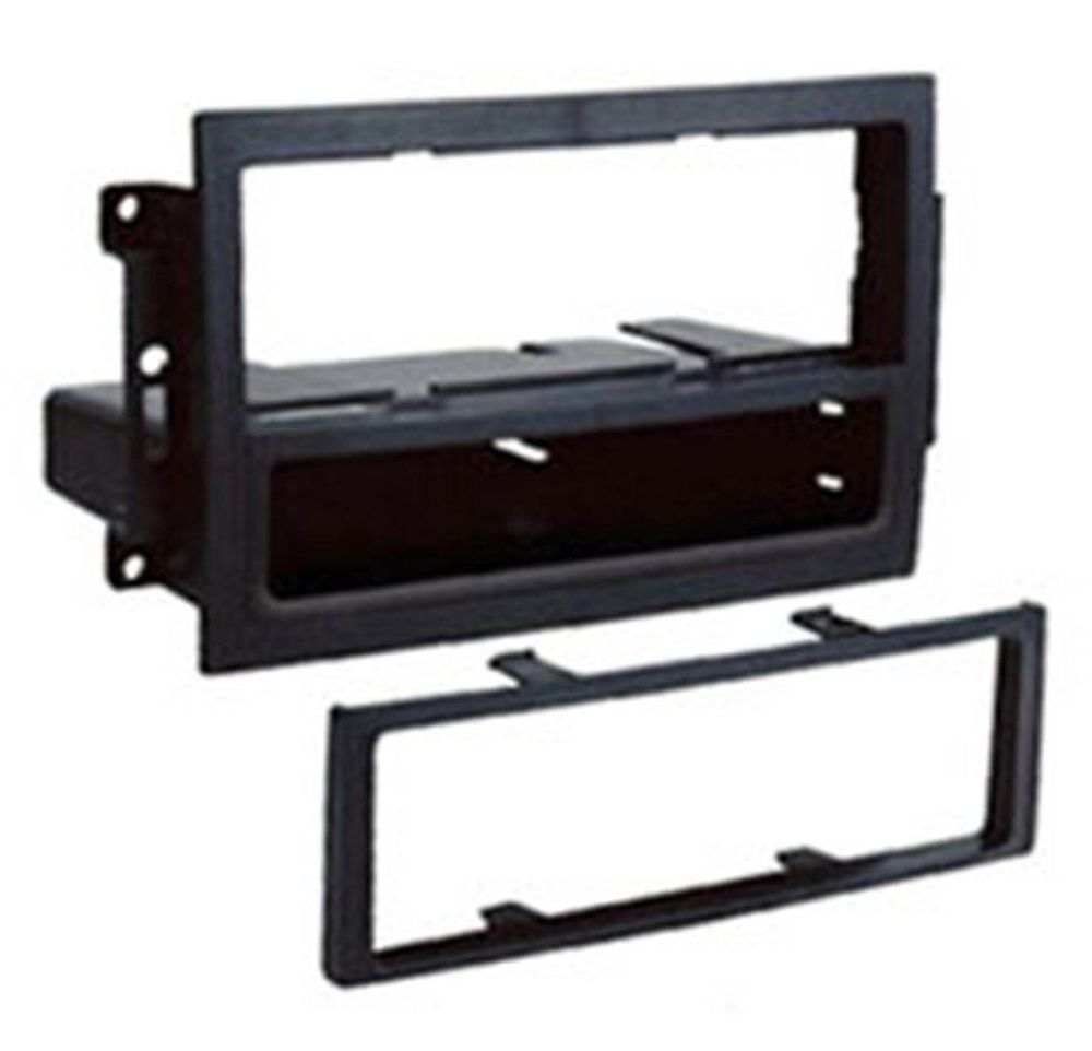 Jeep Wrangler Car Stereo Mounting And Fitting Solutions For Double Din Radio 1 Facia Adaptor