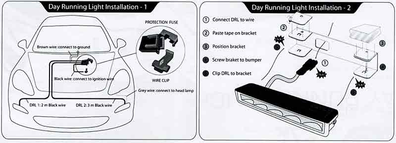 how to install daytime running lights how to install philips led