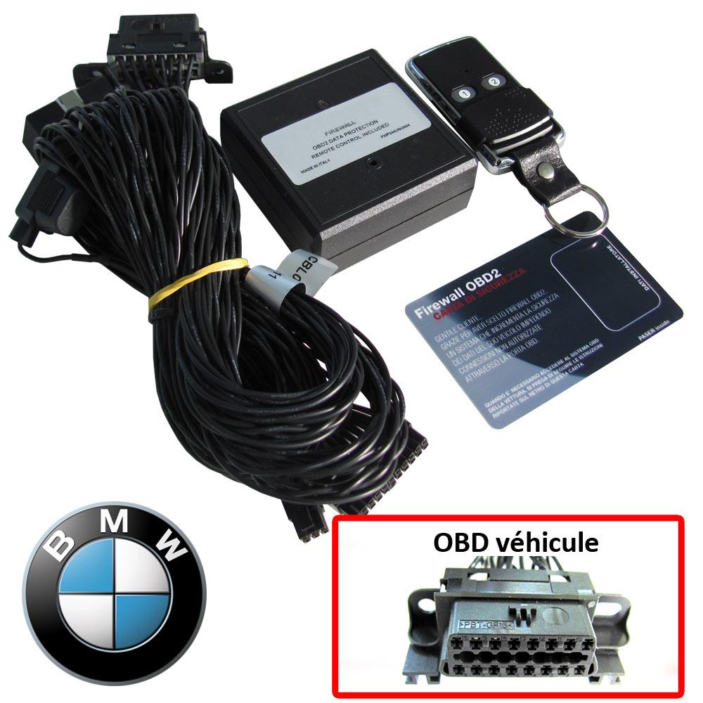 BMW Electronic anti thefts on OBD plug