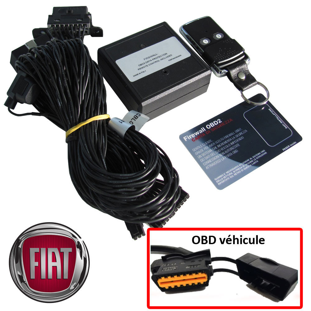 Fiat Electronic anti thefts on OBD plug