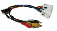 Nissan 350Z Active ISO lead Harness Adaptor - RCA