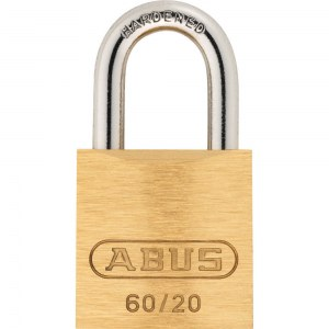 ABUS Keyed Padlock Brass, 60 / 20mm