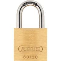 ABUS Keyed Padlock Brass, 60 / 30mm