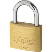 ABUS Keyed Padlock Brass, 60 / 40mm