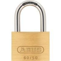 ABUS Keyed Padlock Brass, 60 / 50mm