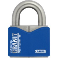 ABUS Keyed padlock Granit 37ST-55mm, stainless steel