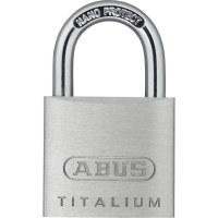 ABUS Padlock Titalium 64TI / 30, aluminum