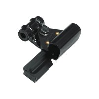 ABUS Bracket SH58 for motocycle and Ebike U-lock 58, black