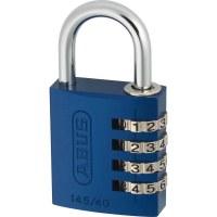 ABUS Aluminum Combination Padlock 145/30 Blue