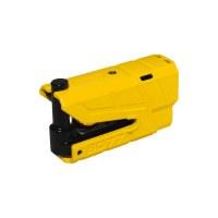 ABUS Brake Disc lock 8077 2.0 XPLUS, Yellow SRA (french homologation)
