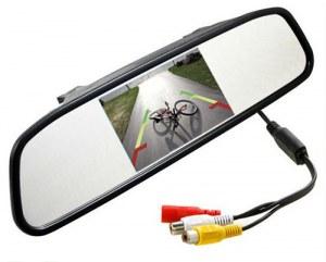 Universal rear view mirror monitor