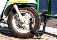 Motorcycle Chain locks