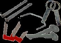 Removal keys