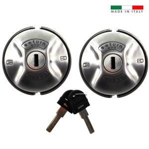 Daken Saturn Evo van lock with two locks