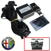 Alfa Romeo Electronic anti thefts on OBD plug
