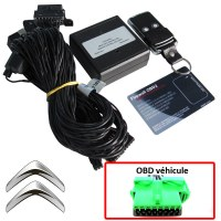 Citroen Electronic anti thefts on OBD plug