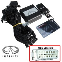 Infinity Electronic anti thefts on OBD plug