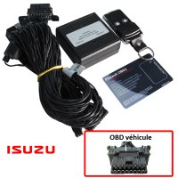 Isuzu Electronic anti thefts on OBD plug