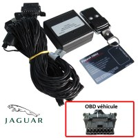 Jaguar Electronic anti thefts on OBD plug