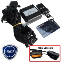 Lancia Electronic anti thefts on OBD plug