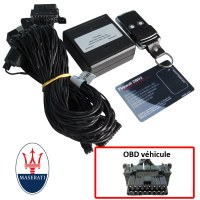 Maserati Electronic anti thefts on OBD plug
