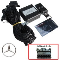 Mercedes Electronic anti thefts on OBD plug