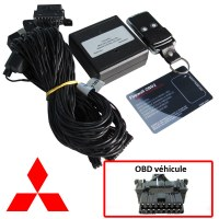 Mitsubishi Electronic anti thefts on OBD plug