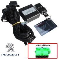 Peugeot Electronic anti thefts on OBD plug