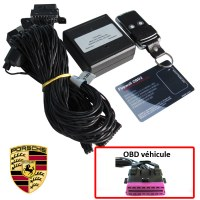Porsche Electronic anti thefts on OBD plug