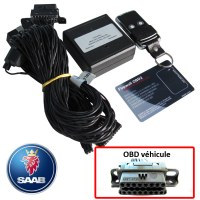 Saab Electronic anti thefts on OBD plug