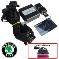 Skoda Electronic anti thefts on OBD plug