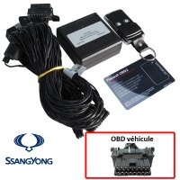 Ssangyong Electronic anti thefts on OBD plug