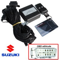 Suzuki Electronic anti thefts on OBD plug