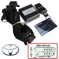 Toyota Electronic anti thefts on OBD plug