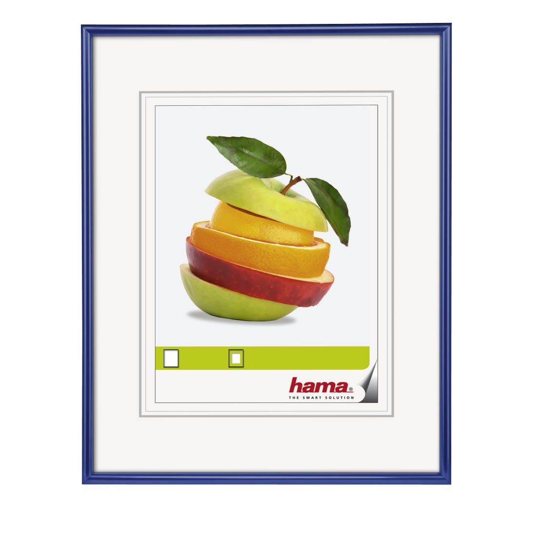 30x40cm Hama Sevilla Plastic Frame Black