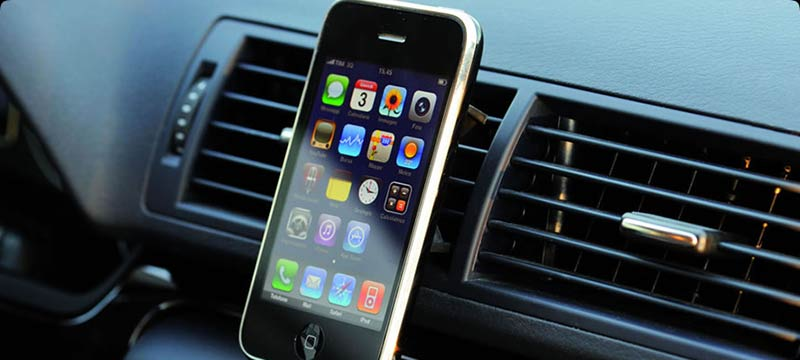 Tetrax XWAY, support auto Iphone, support auto smartphone