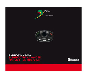 parrot mki9000 bluetooth, mains libres