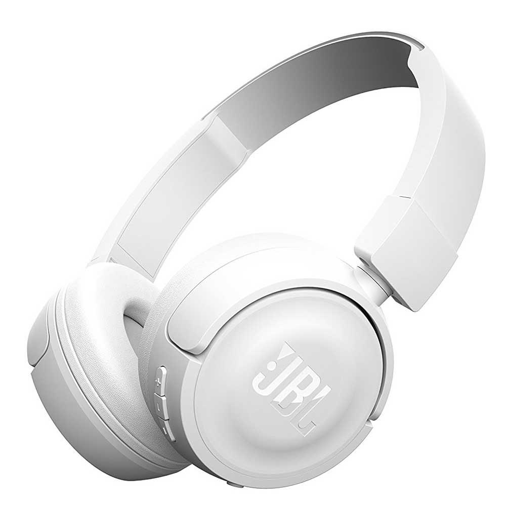 casque audio bluetooth jbl t450bt blanc univers club. Black Bedroom Furniture Sets. Home Design Ideas