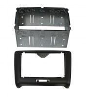 Adaptateur autoradio 2 DIN + cage pour Audi TT