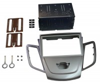 Adaptateur autoradio 2 DIN + cage pour Ford Fiesta