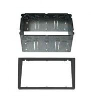 Adaptateur autoradio 2 DIN + cage pour Opel Zafira