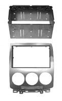 Adaptateur autoradio 2 DIN + cage pour Mazda 5