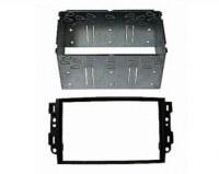 Adaptateur autoradio 2 DIN + cage pour Chevrolet Aveo