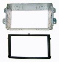 Adaptateur autoradio 2 DIN + cage pour Ssangyong Rexton