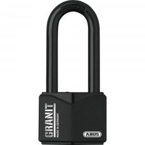 ABUS ABUS Cadenas Granit à clé, haute anse 37/55HB75, noir