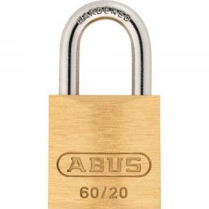 ABUS Cadenas à clé en Laiton, 60/20mm