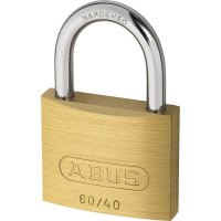 ABUS Cadenas à clé en Laiton, 60/40mm