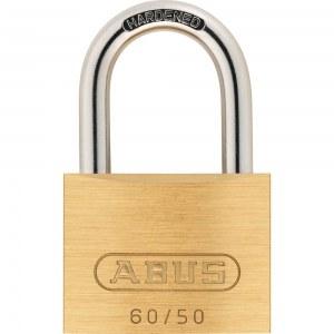 ABUS Cadenas à clé en Laiton, 60/60mm