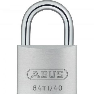 ABUS Cadenas Titalium 64TI/40, en aluminium